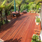 A deck built by Joe Lancaster & Son.